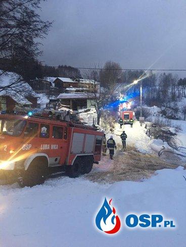 Pożar Budynku Mieszkalnego w Niedamirowie OSP Ochotnicza Straż Pożarna