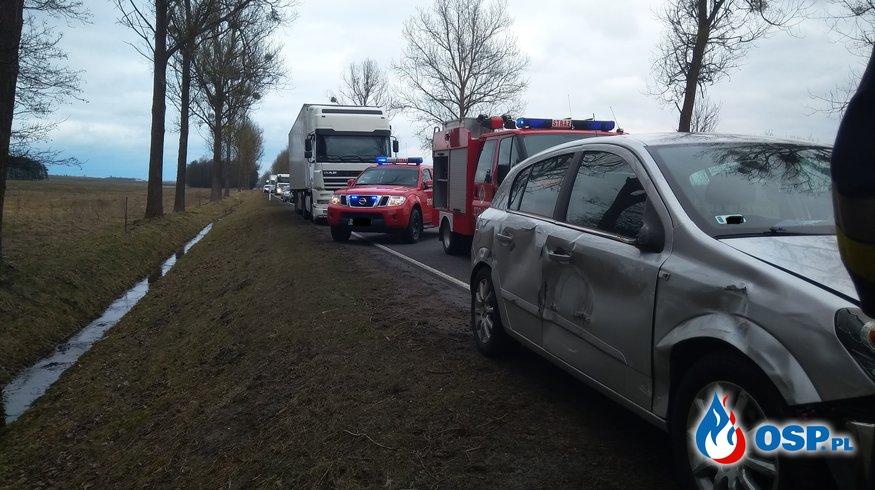 30.03 Wypadek drogowy DK 22 - 208km kier. Wałcz OSP Ochotnicza Straż Pożarna