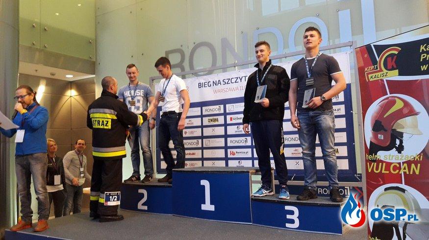 """Kolejne zwycięstwo w zawodach """"Bieg na Szczyt - RONDO 1"""" OSP Ochotnicza Straż Pożarna"""