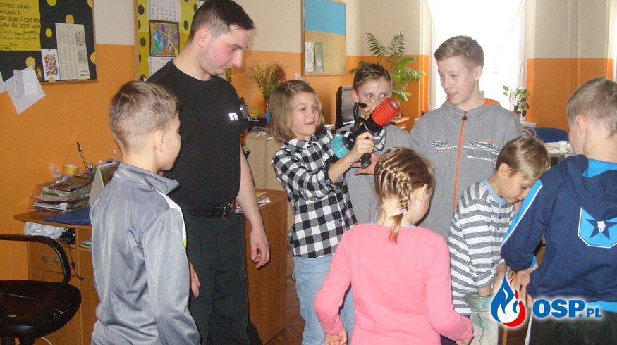 Wizyta w świetlicy środowiskowej w Kwidzynie OSP Ochotnicza Straż Pożarna