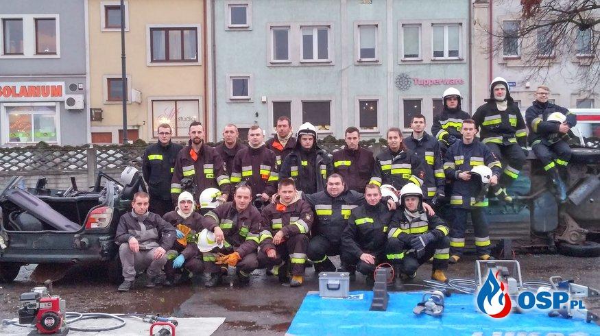 Ćwiczenia w OSP KSRG Konin - Starówka. OSP Ochotnicza Straż Pożarna