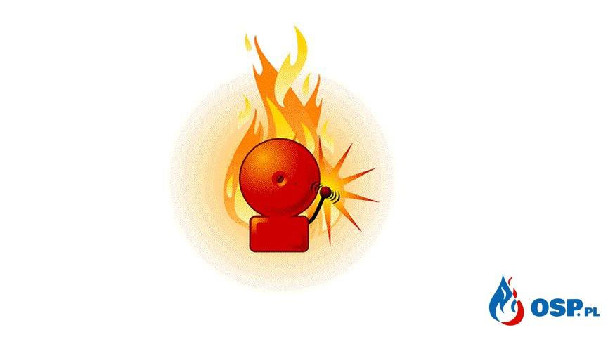 Pożar suchej trawy - m. Kolonia Kołłątaja OSP Ochotnicza Straż Pożarna