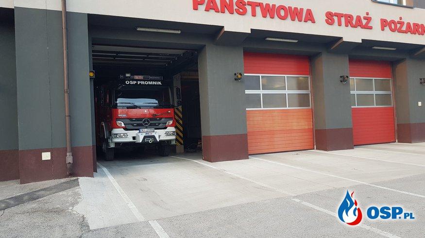 Zabezpieczenie terenu miasta Kielce OSP Ochotnicza Straż Pożarna