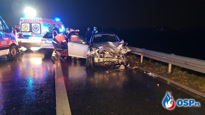 Tragiczny wypadek na autostradzie A4 ! OSP Ochotnicza Straż Pożarna
