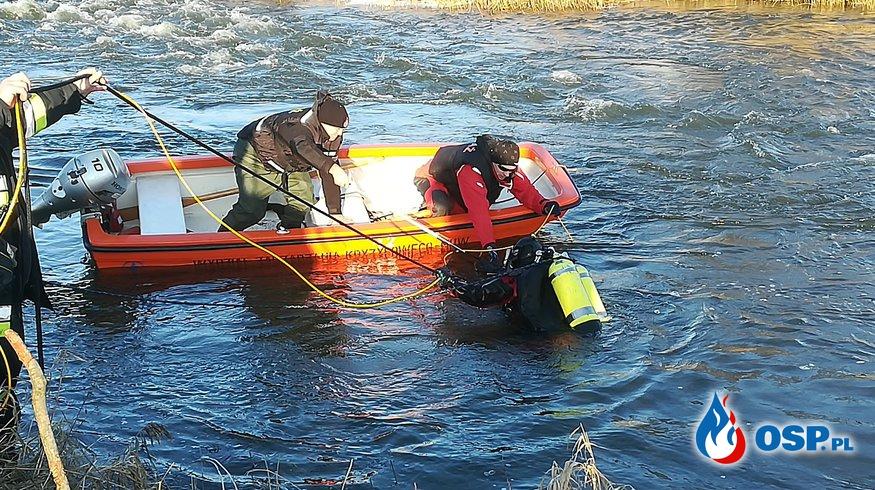 Kolejny dzień poszukiwań na rzece Sona OSP Ochotnicza Straż Pożarna