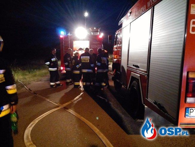 Pożar sadzy oraz domu mieszkalnego. OSP Ochotnicza Straż Pożarna