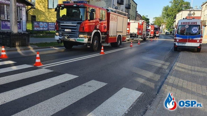 61-letni mężczyzna zginął w pożarze mieszkania w Szczebrzeszynie OSP Ochotnicza Straż Pożarna