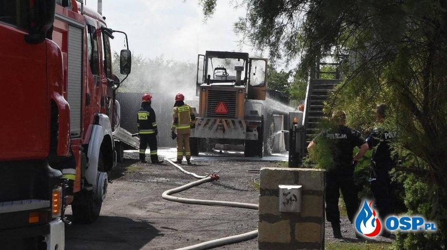 Pożar fadromy OSP Ochotnicza Straż Pożarna