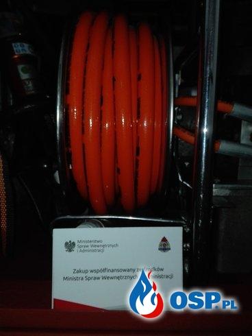 Duże wsparcie MSWiA dla OSP z Łapalic OSP Ochotnicza Straż Pożarna