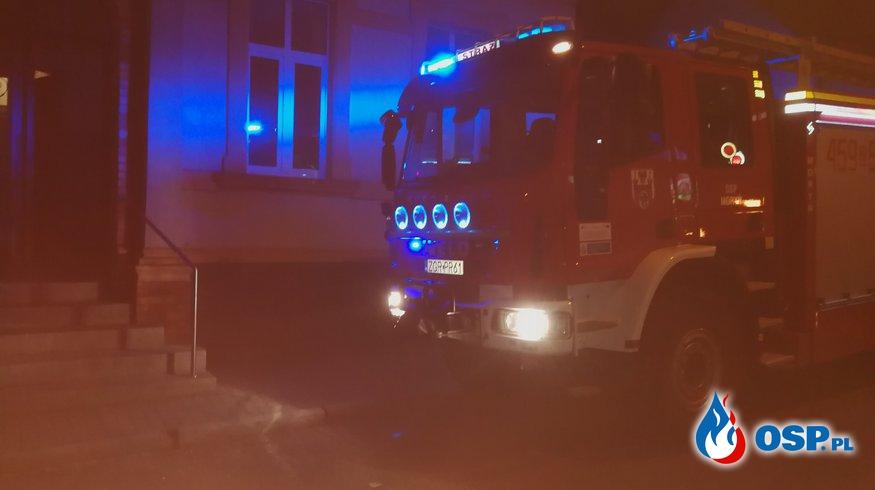 Pomoc dla Policji OSP Ochotnicza Straż Pożarna