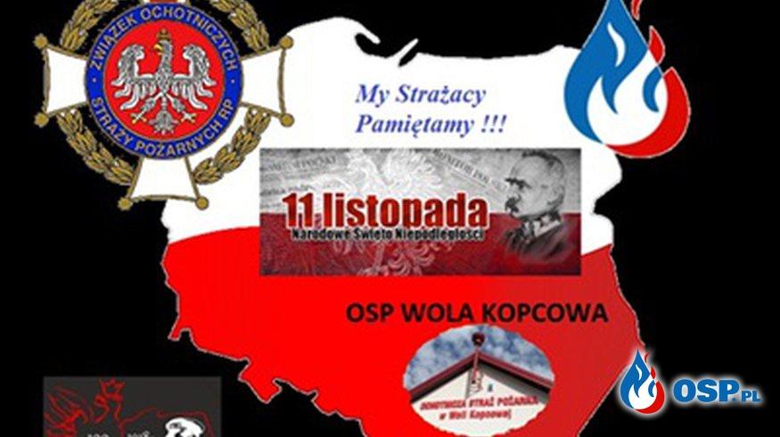 11 Listopada - Święto Niepodległości - 100-lecie Odzyskania Niepodległości OSP Ochotnicza Straż Pożarna