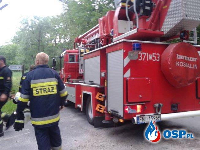 ALARM!! OSP Ochotnicza Straż Pożarna