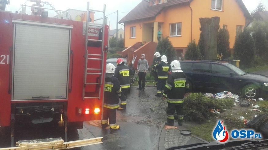 08.05-Kolizja w Tomisławiu OSP Ochotnicza Straż Pożarna