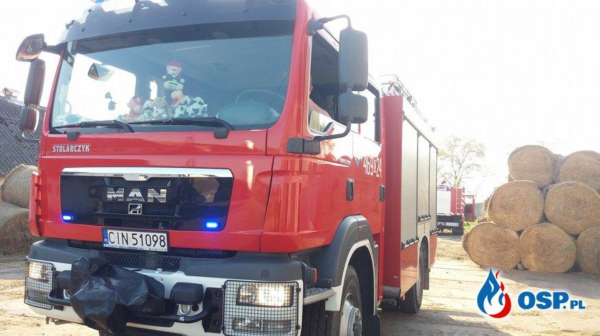 28.04.18 17:46 - POŻAR STOGU, DZIARNOWO OSP Ochotnicza Straż Pożarna