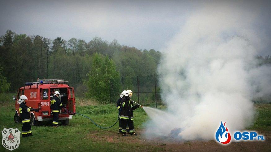 ĆWICZENIA - pożar i pierwsza pomoc OSP Ochotnicza Straż Pożarna
