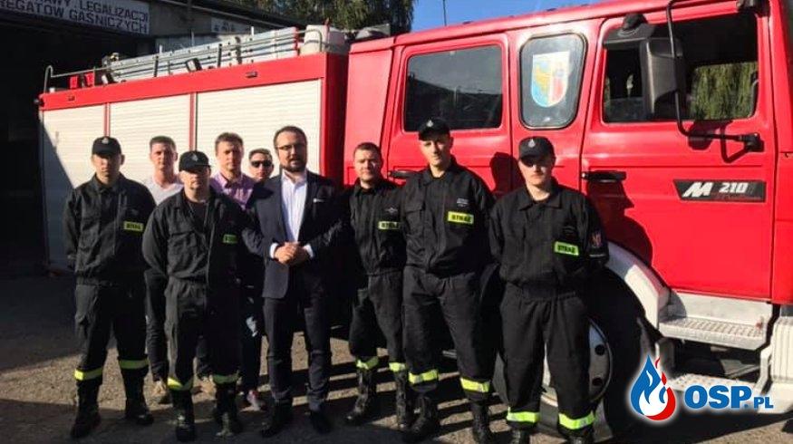 Remiza OSP Ruda Śląska uratowana? Jest deklaracja pomocy, strażacy czekają na konkrety. OSP Ochotnicza Straż Pożarna