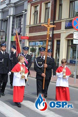 Msza z udziałem naszych strażaków OSP Ochotnicza Straż Pożarna