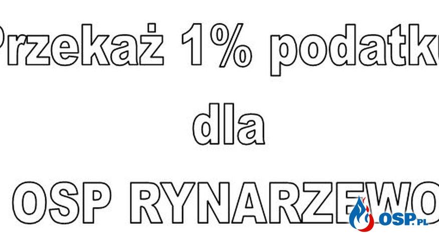 1% Twojego podatku dla OSP Rynarzewo OSP Ochotnicza Straż Pożarna