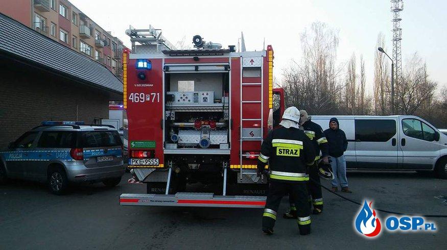 Poszukiwania zaginionej osoby i pożar w markecie [8,9/2018] OSP Ochotnicza Straż Pożarna