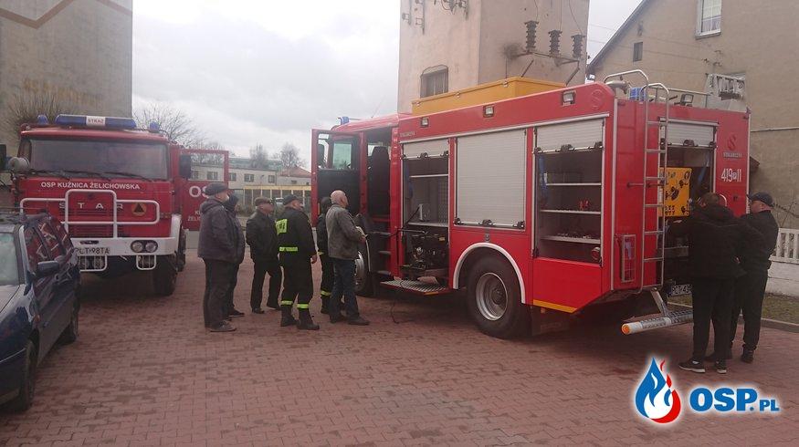 Jednostka bez średniego samochodu ratowniczo-gaśniczego OSP Ochotnicza Straż Pożarna