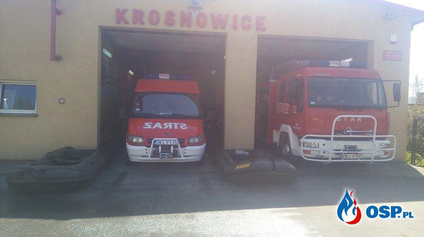 OSP KROSNOWICE Z RATOWNICTWEM WODNYM :)  OSP Ochotnicza Straż Pożarna
