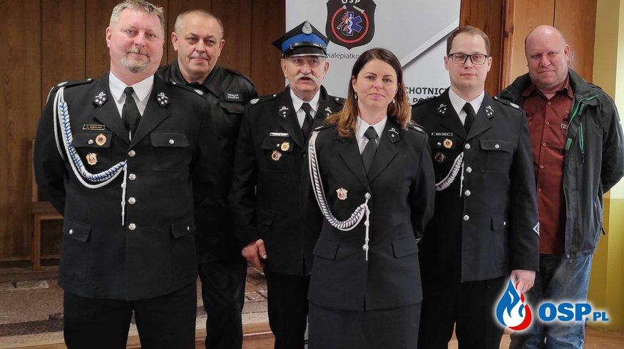 Zebranie spawozdawczo-wyborcze 14.03.2021 r. OSP Ochotnicza Straż Pożarna