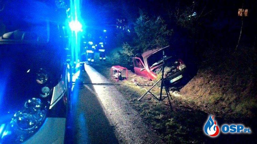 Wypadek w Lubli OSP Ochotnicza Straż Pożarna