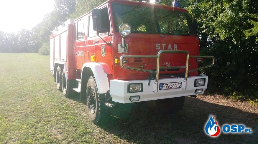 Zadymienie w mieszkaniu Mieleszyn OSP Ochotnicza Straż Pożarna