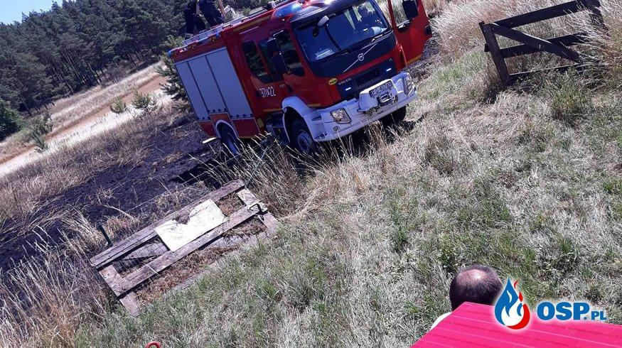 KURSKO - Pożar OSP Ochotnicza Straż Pożarna