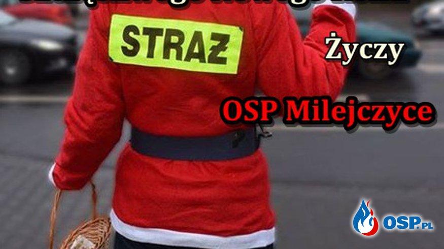 Wesołych Świąt OSP Ochotnicza Straż Pożarna