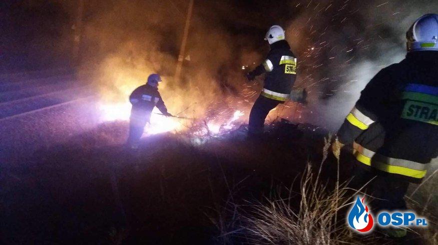 Pożar Skarpy Kolejowej !! OSP Ochotnicza Straż Pożarna