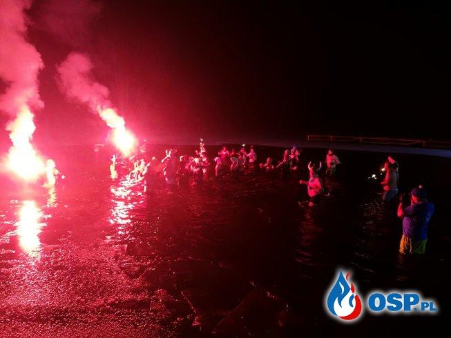 Zabezpieczenie morsowania Korzybie 15-12-2018 OSP Ochotnicza Straż Pożarna