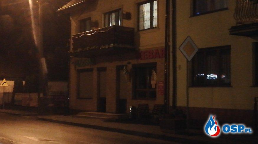 Pożar domu Nowe Miasto Główny Rynek OSP Ochotnicza Straż Pożarna