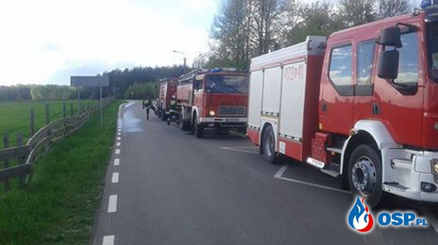 Zadysponowani do pożaru budynku OSP Ochotnicza Straż Pożarna