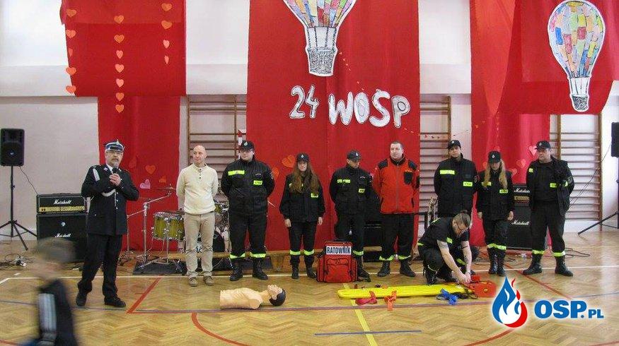My też gramy z WOŚP! OSP Ochotnicza Straż Pożarna