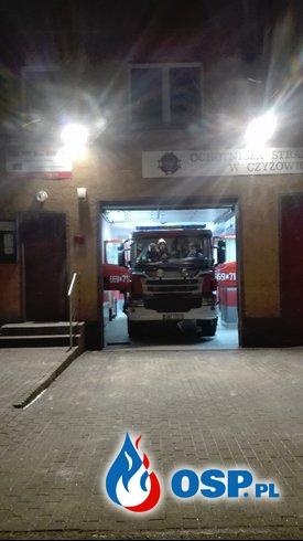 Pożar garażu w Bełsznicy. OSP Ochotnicza Straż Pożarna
