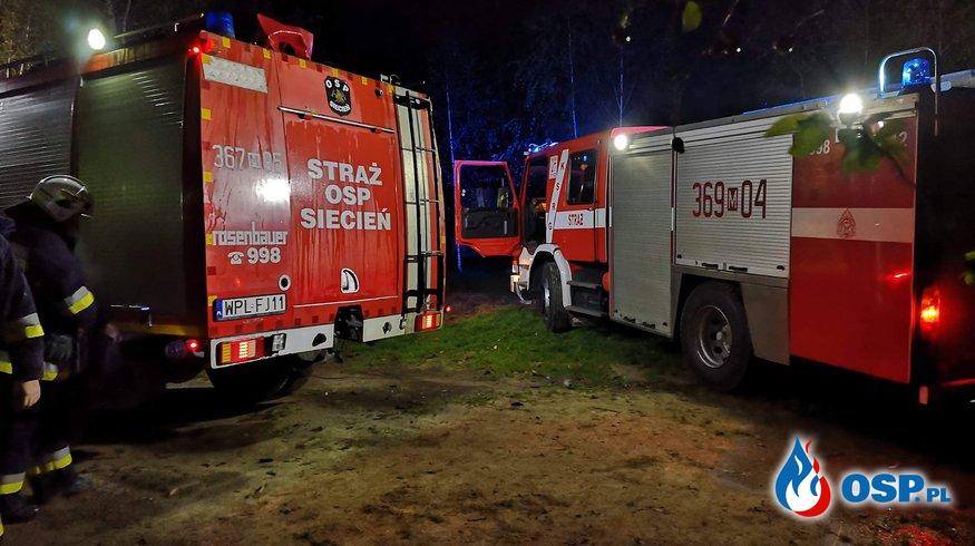 Pożar piwnicy w budynku jednorodzinnym OSP Ochotnicza Straż Pożarna