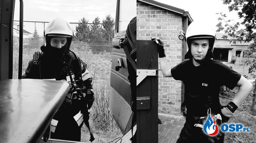 Żałoba w OSP Poddębice. Nie żyje 23-letni strażak. OSP Ochotnicza Straż Pożarna