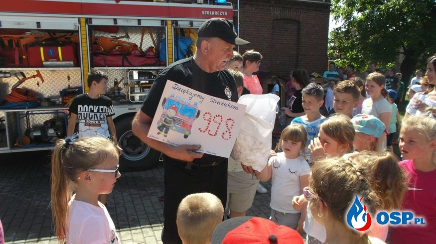 Z wizytą u najmłodszych OSP Ochotnicza Straż Pożarna