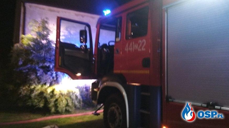 Pożar komina. Ciećmierz 25.07.2019r. OSP Ochotnicza Straż Pożarna