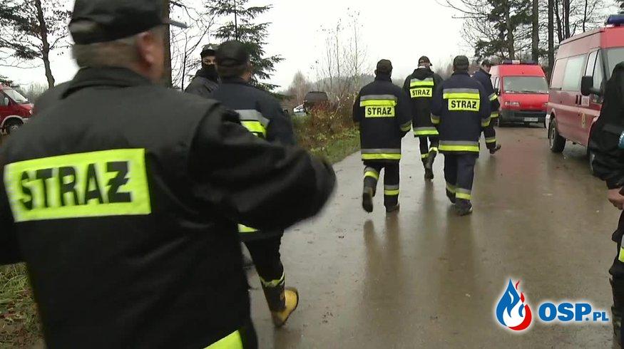 Szczęśliwy finał poszukiwań 12-latka. Dwie doby szukało go blisko 1000 osób. OSP Ochotnicza Straż Pożarna