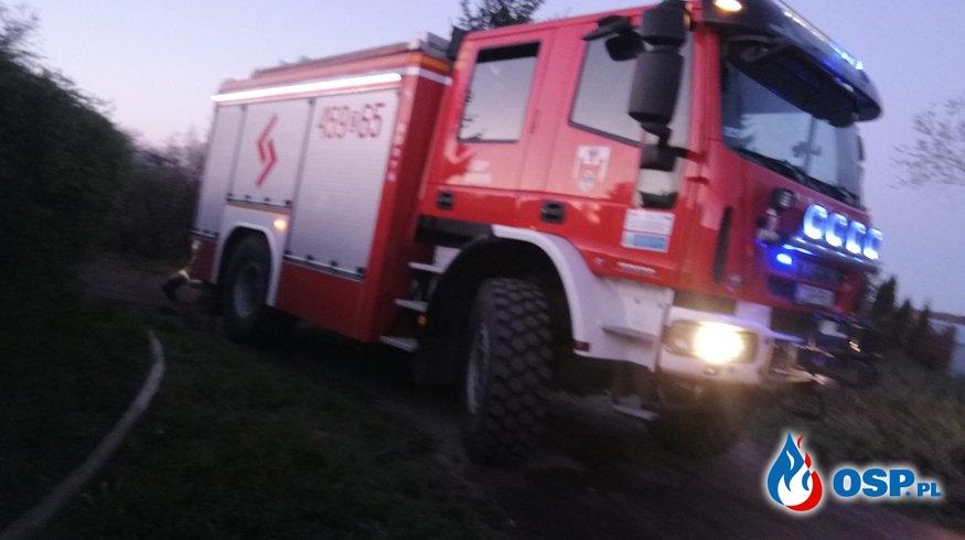 Pomoc dla Policji i Prokuratora OSP Ochotnicza Straż Pożarna