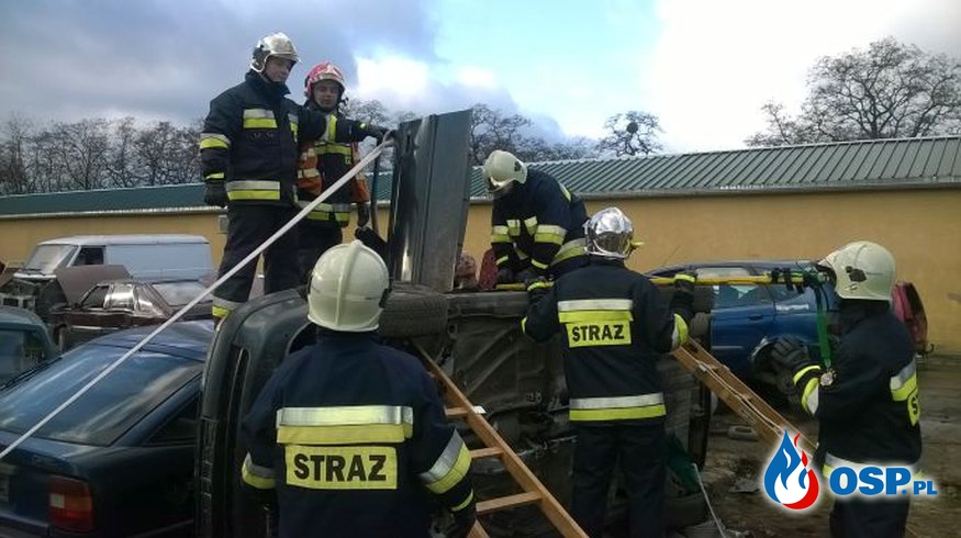 Warsztaty z zakresu ratownictwa drogowego OSP Ochotnicza Straż Pożarna
