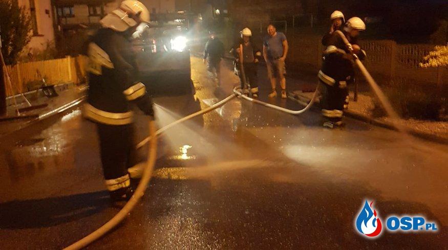Interwencje po gwałtownych burzach OSP Ochotnicza Straż Pożarna