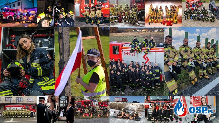 Druhny i druhowie Ochotniczych Straży Pożarnych. Zawsze gotowi, by pomagać! [GALERIA] OSP Ochotnicza Straż Pożarna