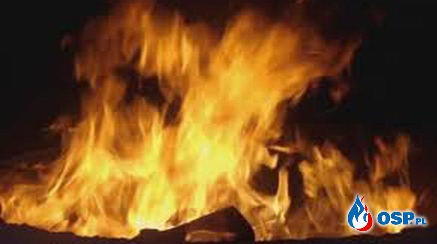 Pożar mieszkania OSP Ochotnicza Straż Pożarna