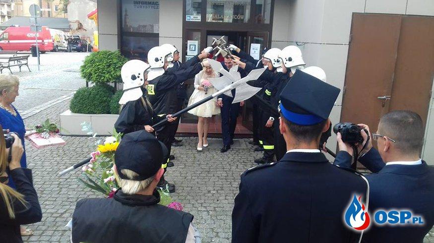 Ślub druhny Asi! OSP Ochotnicza Straż Pożarna