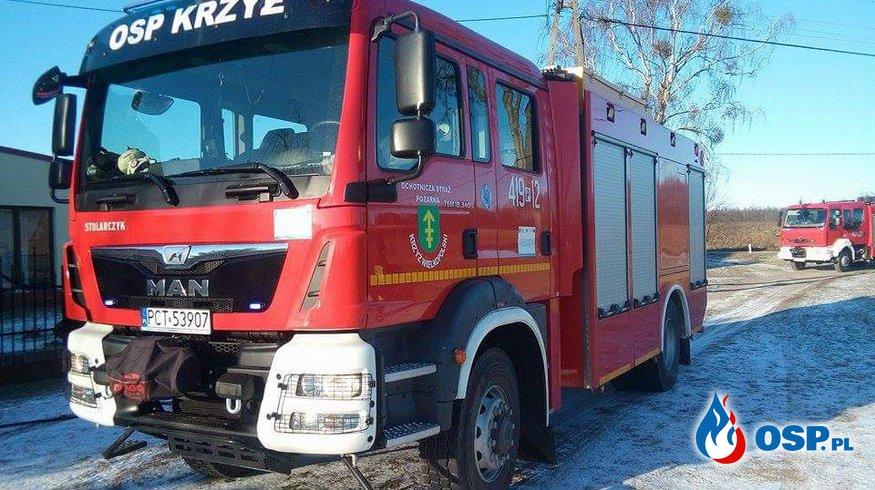 Pożar stropu od komina! OSP Ochotnicza Straż Pożarna