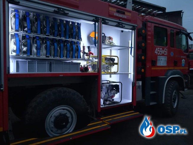 Ostatnia prosta do wprowadzenia Mana na podział. OSP Ochotnicza Straż Pożarna