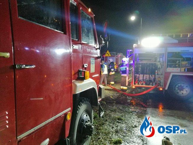 Pożar szeregowca w Brodowie OSP Ochotnicza Straż Pożarna